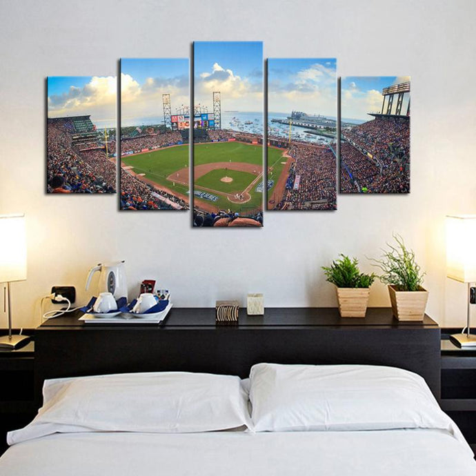 San Francisco Giants Stadium Canvas 4