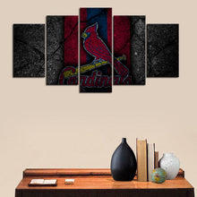 Load image into Gallery viewer, St. Louis Cardinals Rock Style Canvas