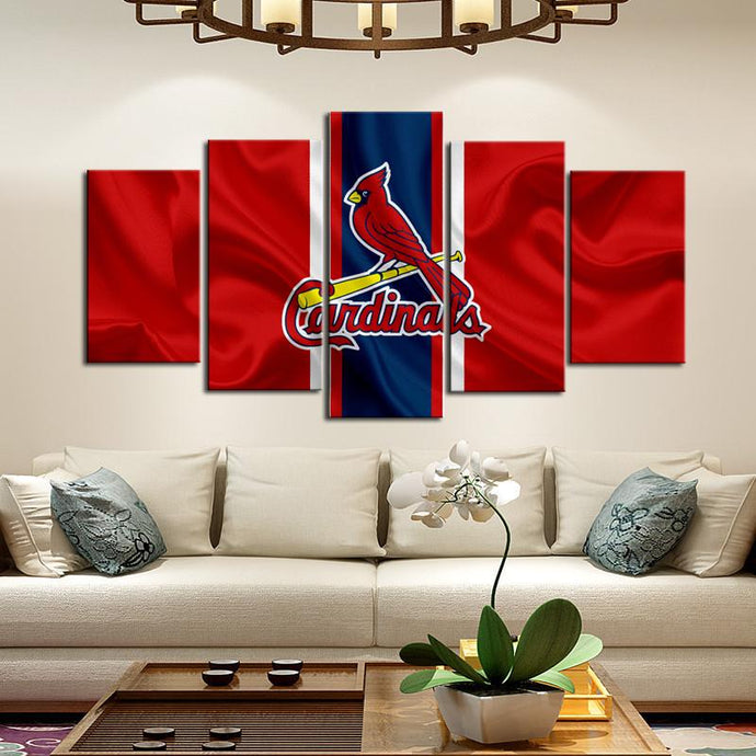 St. Louis Cardinals Fabric Flag Canvas
