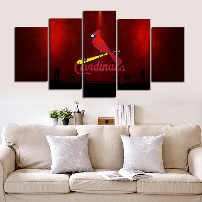 St. Louis Cardinals Redish Canvas