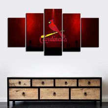 Load image into Gallery viewer, St. Louis Cardinals Redish Canvas
