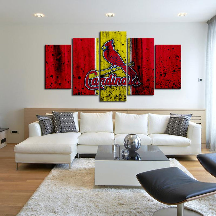 St. Louis Cardinals Rough Look Canvas