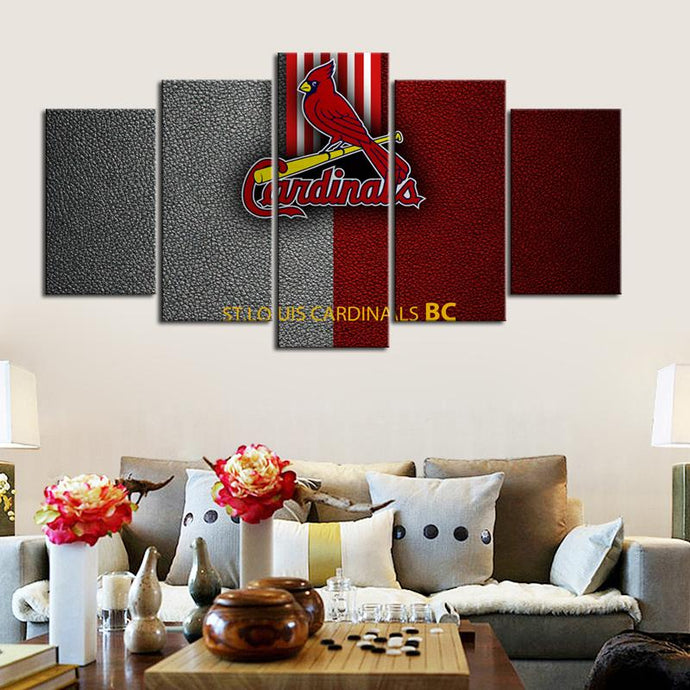 St. Louis Cardinals Leather Look Canvas