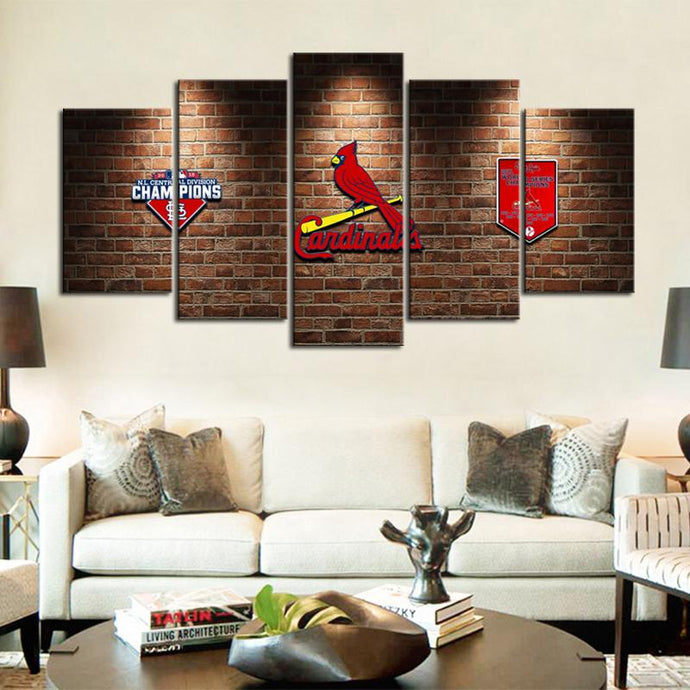 St. Louis Cardinals Champion Wall Canvas