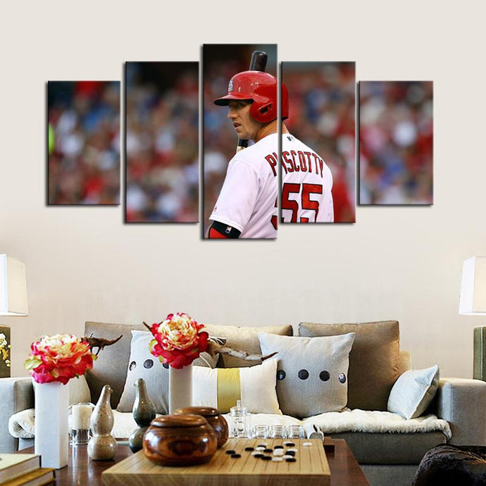 Stephen Piscotty St. Louis Cardinals Canvas