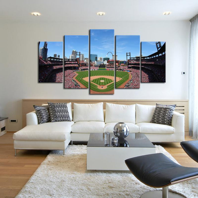 St. Louis Cardinals Stadium Canvas 4