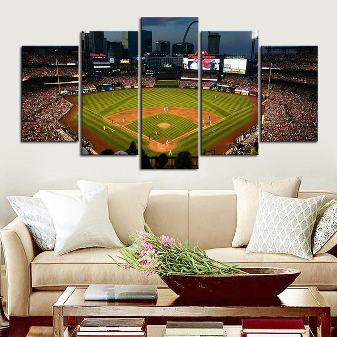 St. Louis Cardinals Stadium Canvas 1