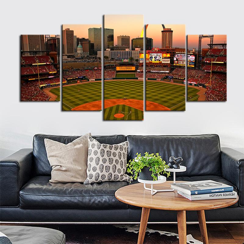 St. Louis Cardinals Stadium Canvas 3