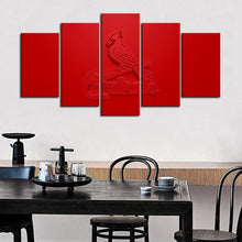 Load image into Gallery viewer, St. Louis Cardinals Embossed Style Canvas