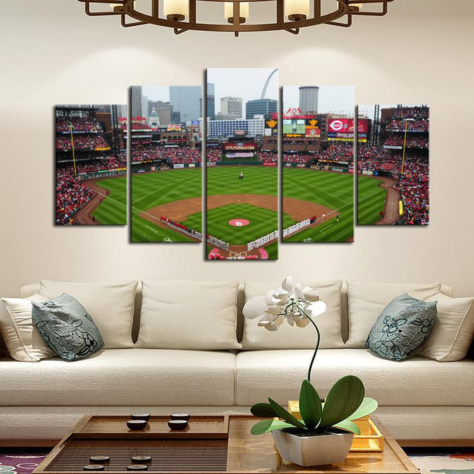 St. Louis Cardinals Stadium Canvas 6