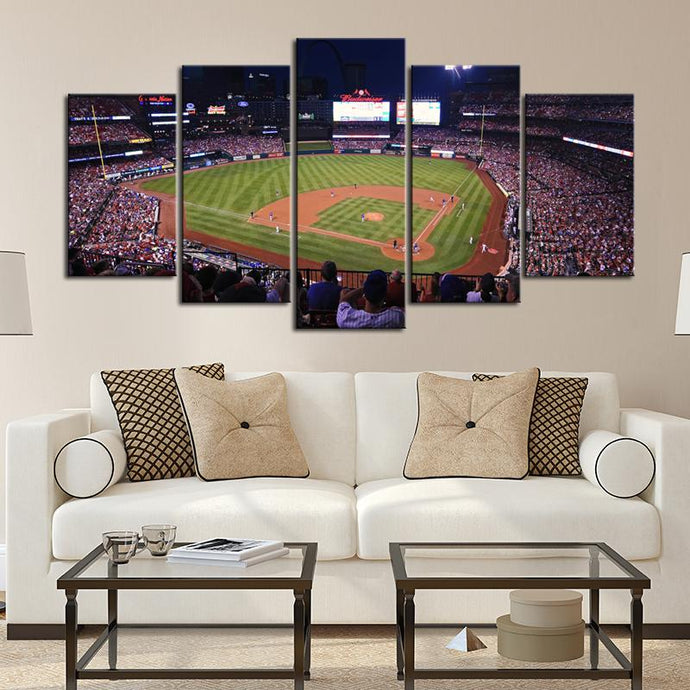St. Louis Cardinals Stadium Canvas 5