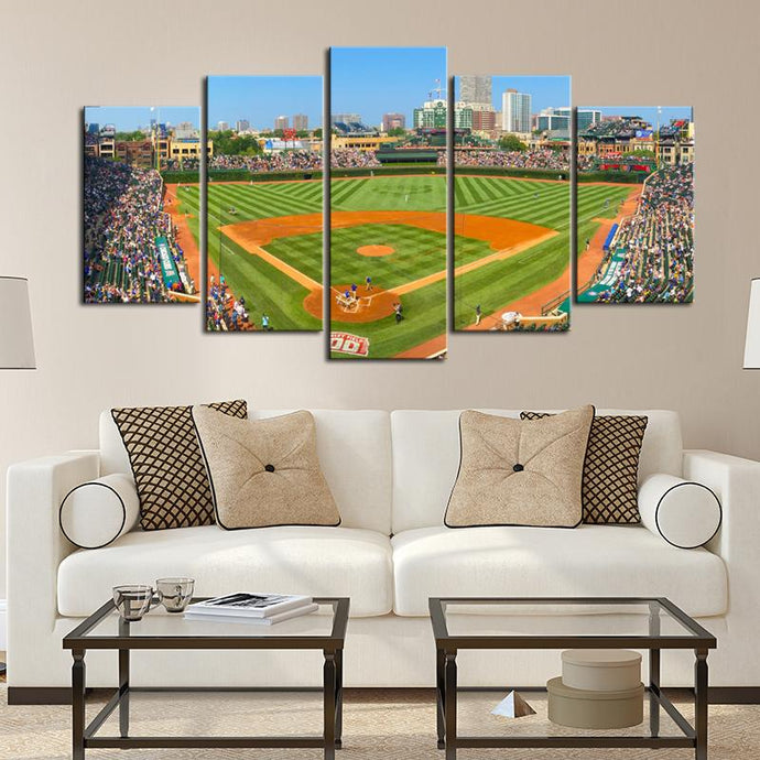St. Louis Cardinals Stadium Canvas 2