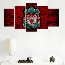 Load image into Gallery viewer, Liverpool F.C. Old Wall 5 Pieces Wall Painting Canvas