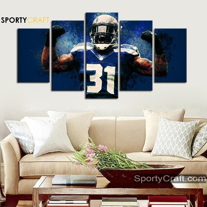 Kam Chancellor Seattle Seahawks Canvas