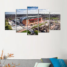 Load image into Gallery viewer, Liverpool F.C. Stadium Surround 5 Pieces Wall Painting Canvas