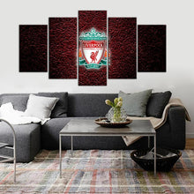 Load image into Gallery viewer, Liverpool F.C. Rock on Canvas 5 Pieces Wall Painting Canvas