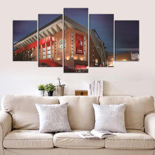 Load image into Gallery viewer, Liverpool F.C. Stadium Night 5 Pieces Wall Painting Canvas