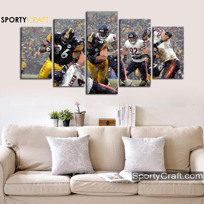 Pittsburgh Steelers Players Wall Art XL