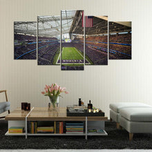 Load image into Gallery viewer, Minnesota Vikings Stadium 5 Pieces Wall Painting Canvas