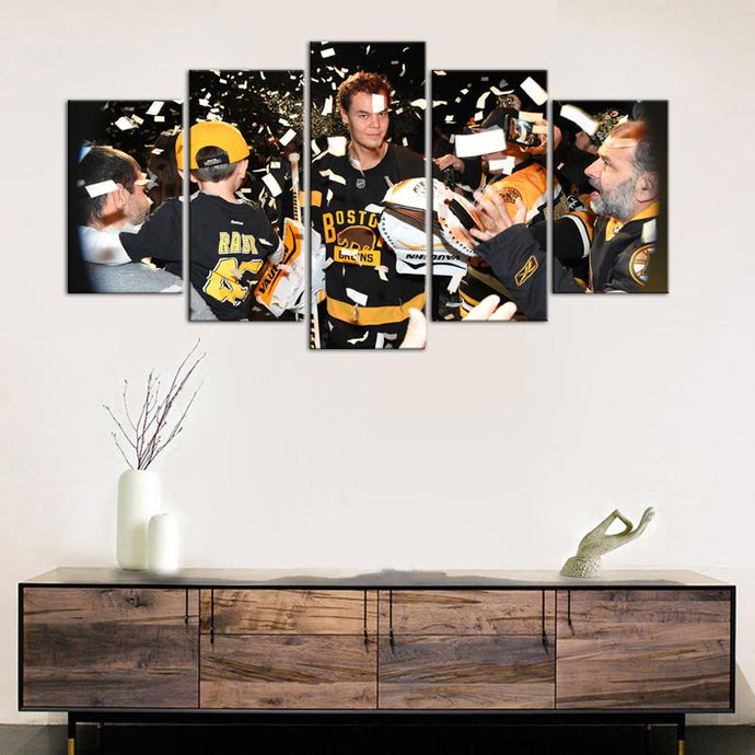 Tuukka Rask Boston Bruins 5 Pieces Painting Canvas