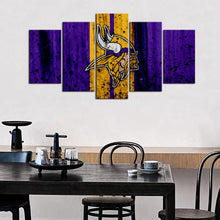 Load image into Gallery viewer, Minnesota Vikings Rough Look Canvas