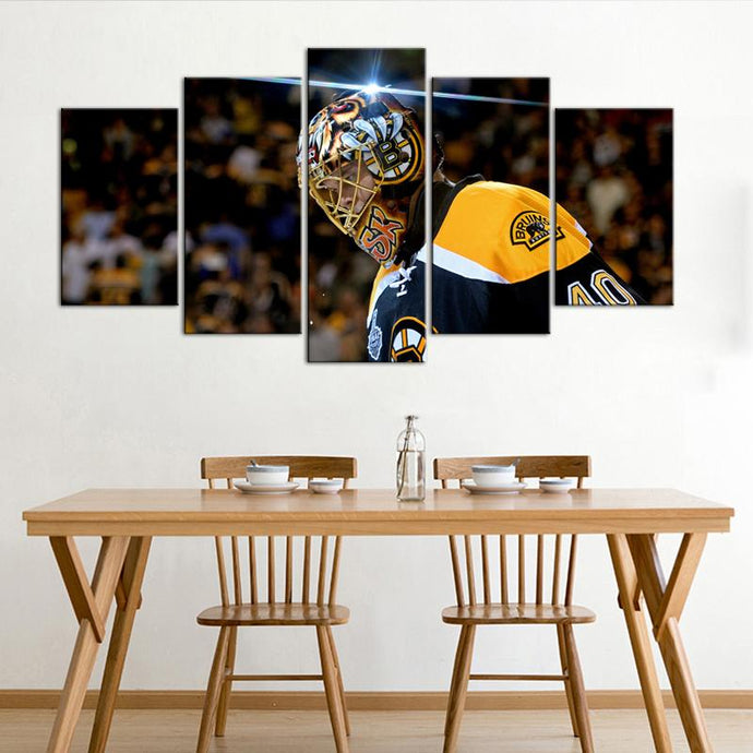 Tuukka Rask Boston Bruins 5 Pieces Wall Painting Canvas