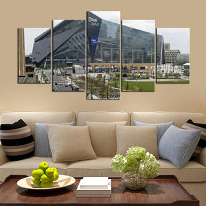 Minnesota Vikings US Bank Stadium Canvas