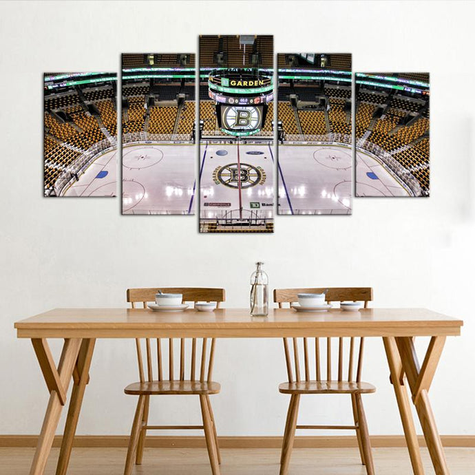 Boston Bruins Stadium Canvas