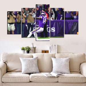 Minnesota Vikings Miracle 5 Pieces Wall Painting Canvas