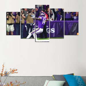 Minnesota Vikings Miracle Canvas