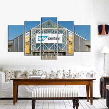 Load image into Gallery viewer, San Jose Sharks Stadium 5 Pieces Wall Painting Canvas