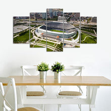 Load image into Gallery viewer, Chicago Bears Stadium From Sky Canvas