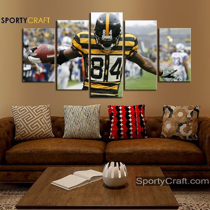 Pittsburgh Steelers Wall Art Canvas