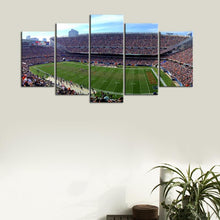 Load image into Gallery viewer, Chicago Bears Stadium Canvas 3