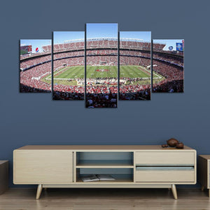 San Francisco 49ers Stadium 2 Canvas