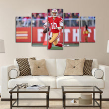 Load image into Gallery viewer, Jimmy Garoppolo San Francisco 49ers Canvas