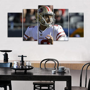 Jimmy Garoppolo San Francisco 49ers 5 Pieces Wall Painting Canvas
