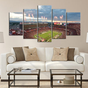 San Francisco 49ers Stadium 4 Canvas