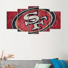 Load image into Gallery viewer, San Francisco 49ers Techy Style Canvas