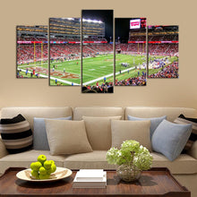 Load image into Gallery viewer, San Francisco 49ers Stadium 5 Pieces Wall Painting Canvas