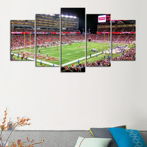 San Francisco 49ers Stadium 1 Canvas
