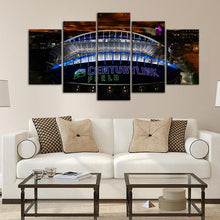 Load image into Gallery viewer, Seattle Sea Hawks Stadium Canvas 2