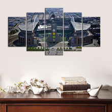 Load image into Gallery viewer, Seattle Sea Hawks Stadium 5 Pieces Wall Painting Canvas