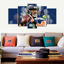 Load image into Gallery viewer, Russell Wilson Seattle Sea Hawks Canvas