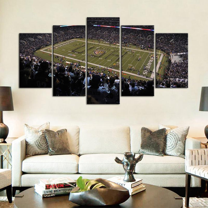 Baltimore Ravens Stadium Canvas 2