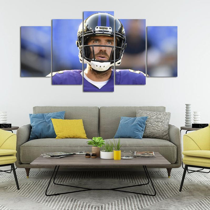 Joe Flacco Baltimore Ravens Canvas