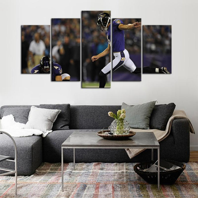 Justin Tucker Baltimore Ravens Canvas