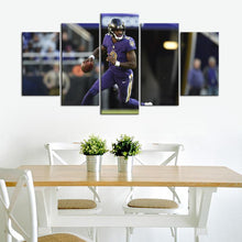 Load image into Gallery viewer, Lamar Jackson Baltimore Ravens Canvas 3