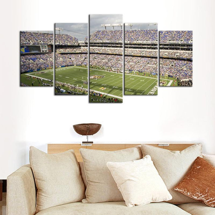 Baltimore Ravens Stadium Canvas 3