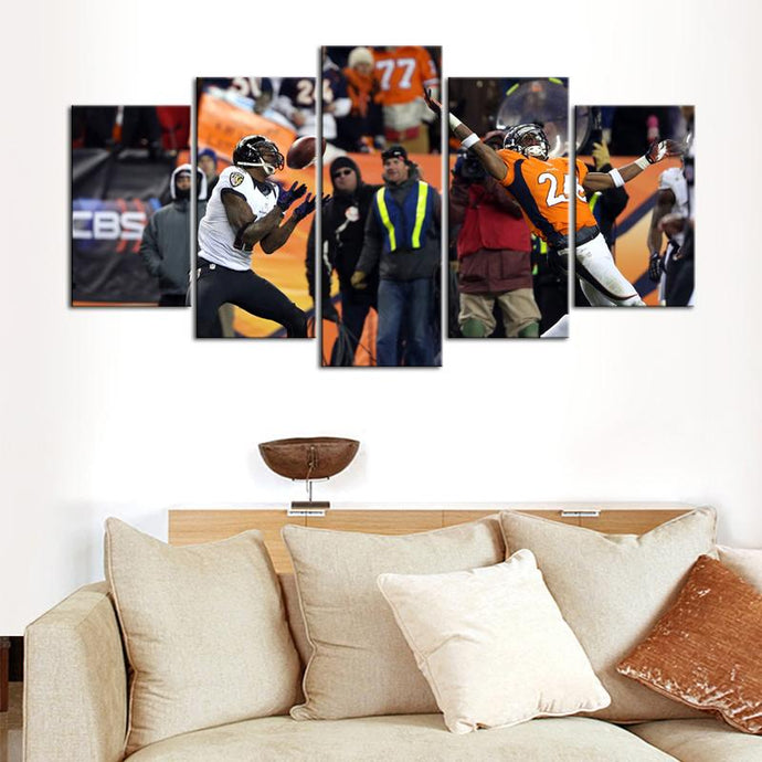 Baltimore Ravens Mile High Miracle Canvas 2